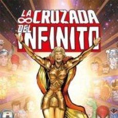 Cómics: COL. JIM STARLIN Nº 11 LA CRUZADA DEL INFINITO PRIMERA PARTE - PANINI - CARTONE - BUEN ESTADO -OFF15. Lote 186096082