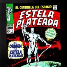Cómics: ESTELA PLATEADA / SILVER SURFER 1 - PANINI / MARVEL FACSIMIL / GRAPA. Lote 186110286