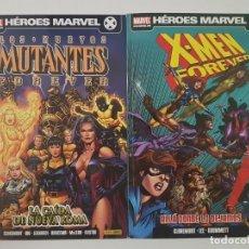 Cómics: X-MEN FOREVER 1 + LOS NUEVOS MUTANTES FOREVER 1 - 2 TOMOS - PANINI. Lote 187122190