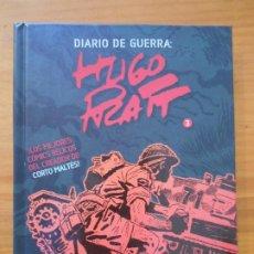 Cómics: DIARIO DE GUERRA: HUGO PRATT Nº 3 - PANINI - TAPA DURA (L). Lote 187167340