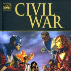 Cómics: CIVIL WAR FRONT LINE - PANINI / MARVEL DELUXE / TAPA DURA. Lote 187208901