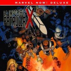 Cómics: PATRULLA-X DE BENDIS 5 CONTRA SHIELD - PANINI / MARVEL NOW! DELUXE / TAPA DURA. Lote 187211072
