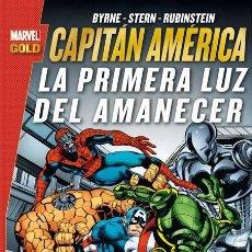 Cómics: CAPITAN AMERICA : LA PRIMERA LUZ DEL AMANECER - PANINI / MARVEL GOLD / TOMO. Lote 187218491