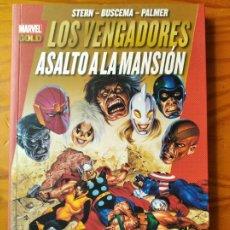 Comics : LOS VENGADORES, ASALTO A LA MANSION - SAGA COMPLETA MARVEL GOLD PANINI COMICS- . Lote 187279790