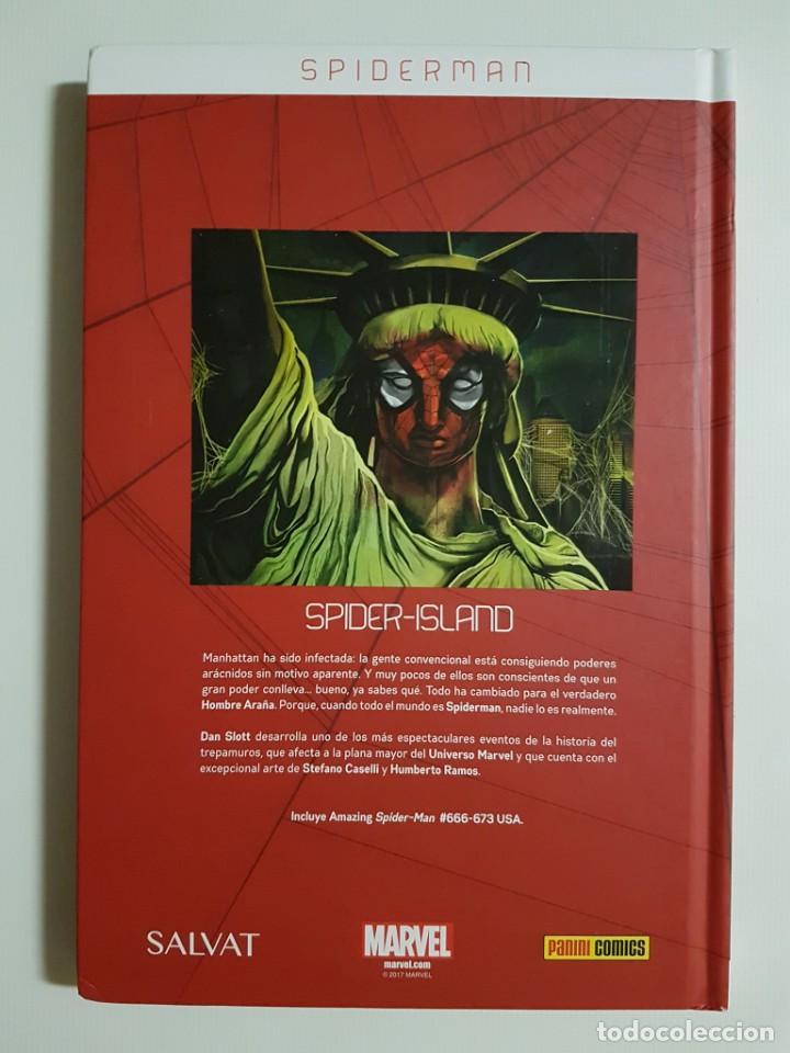 Cómics: SPIDERMAN - A LO GRANDE + SPIDER-ISLAND - 2 TOMOS - SALVAT - PANINI - Foto 3 - 187415448
