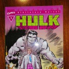 Cómics: BIBLIOTECA MARVEL EXCELSIOR - HULK Nº 1 - FORUM . Lote 187451190