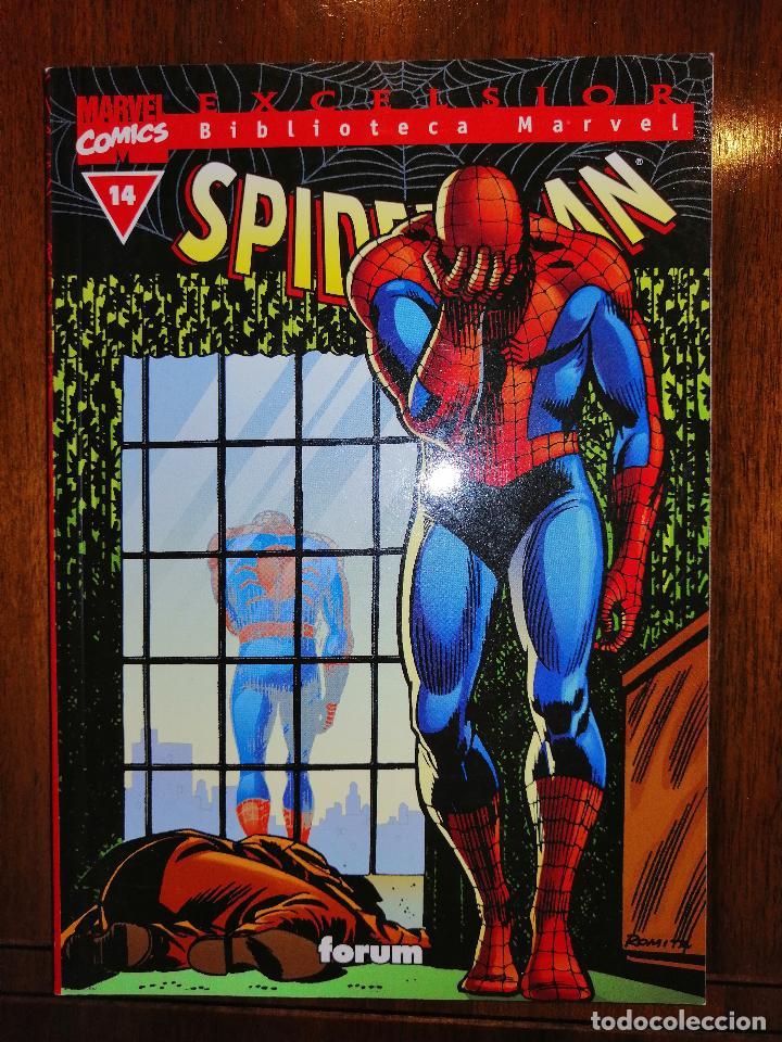 BIBLIOTECA MARVEL EXCELSIOR - SPIDERMAN Nº 14 - FORUM (Tebeos y Comics - Panini - Marvel Comic)