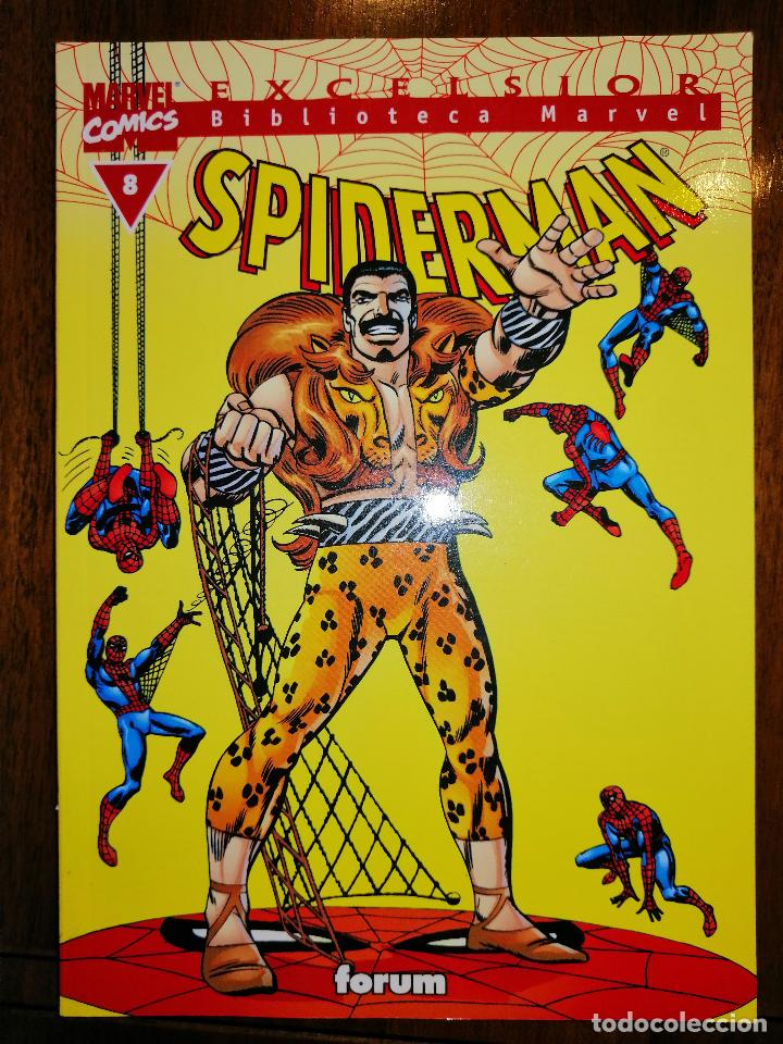 Cómics: BIBLIOTECA MARVEL EXCELSIOR - SPIDERMAN Nº 8 - FORUM - Foto 1 - 187452246