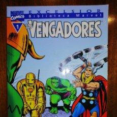 Cómics: BIBLIOTECA MARVEL EXCELSIOR - LOS VENGADORES Nº 1 - FORUM. Lote 187452636