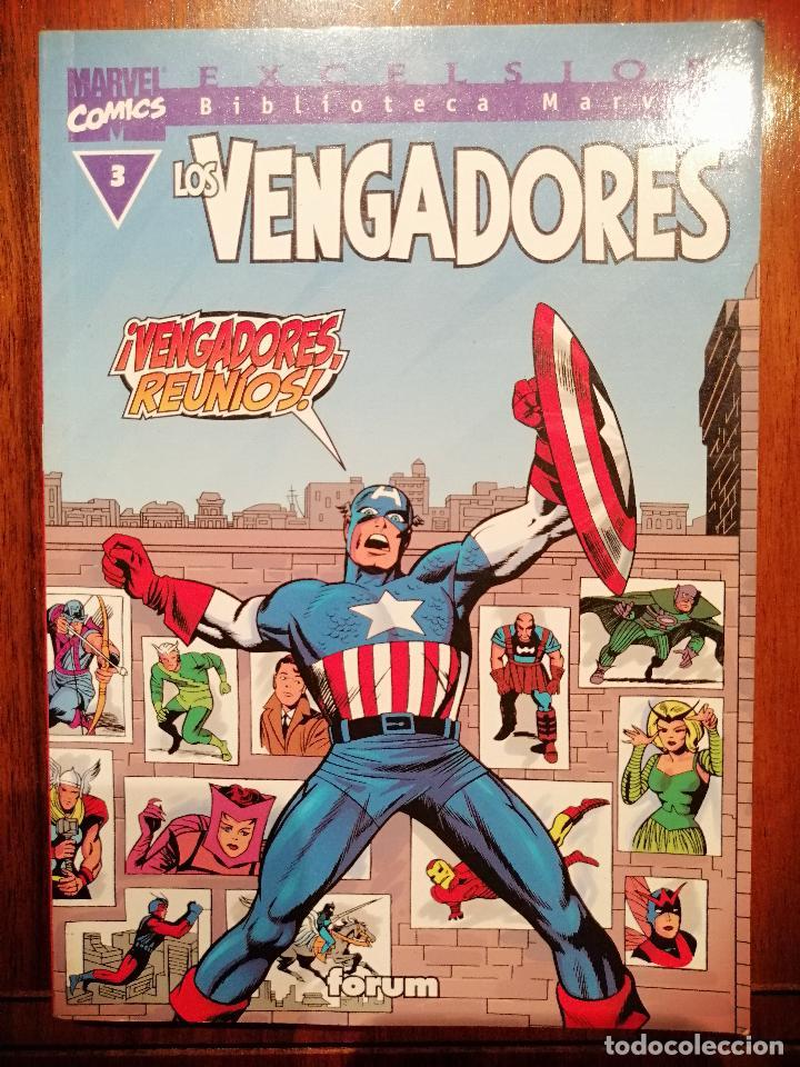 BIBLIOTECA MARVEL EXCELSIOR - LOS VENGADORES Nº 3 - FORUM (Tebeos y Comics - Panini - Marvel Comic)