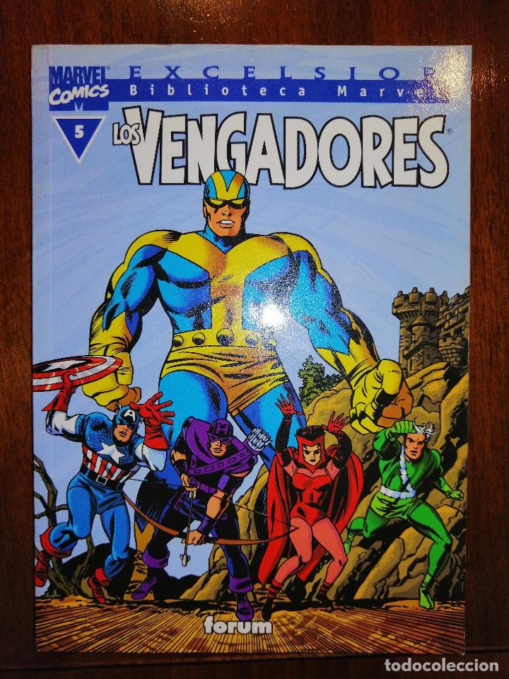 BIBLIOTECA MARVEL EXCELSIOR - LOS VENGADORES Nº 5 - FORUM (Tebeos y Comics - Panini - Marvel Comic)