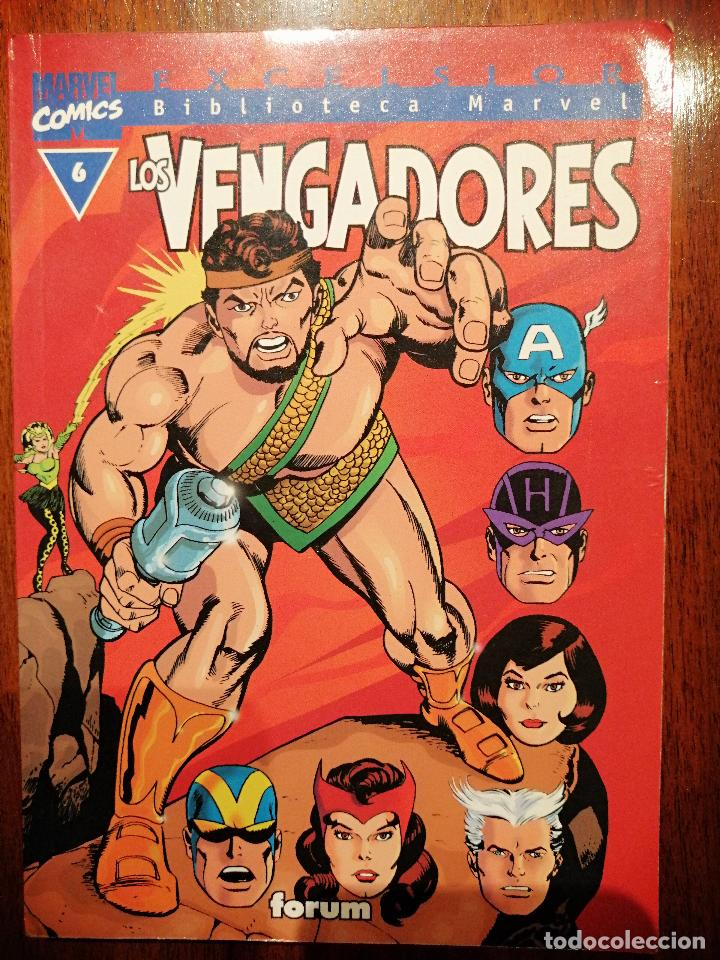BIBLIOTECA MARVEL EXCELSIOR - LOS VENGADORES Nº 6 - FORUM (Tebeos y Comics - Panini - Marvel Comic)