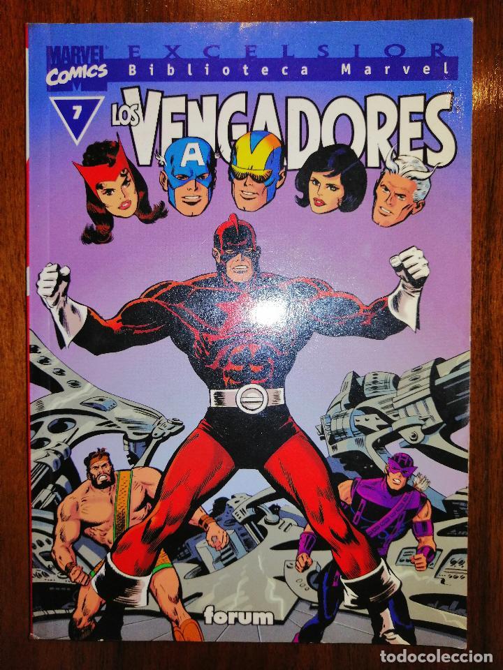 BIBLIOTECA MARVEL EXCELSIOR - LOS VENGADORES Nº 7 - FORUM (Tebeos y Comics - Panini - Marvel Comic)