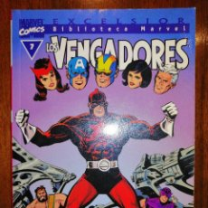 Cómics: BIBLIOTECA MARVEL EXCELSIOR - LOS VENGADORES Nº 7 - FORUM. Lote 187453075