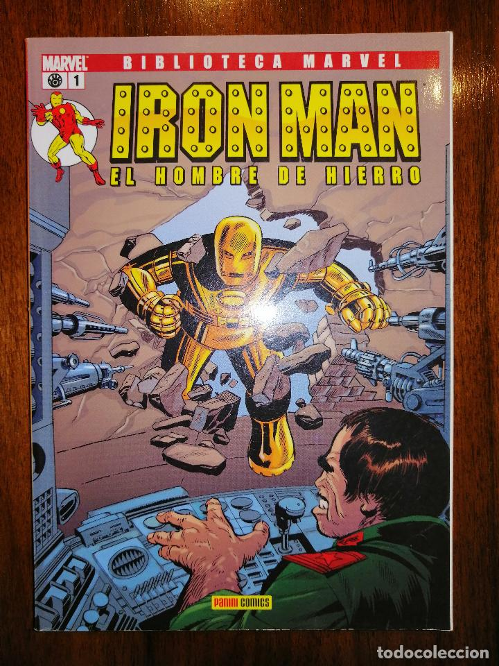 Cómics: BIBLIOTECA MARVEL - IRON MAN Nº 1 - Foto 1 - 187453421