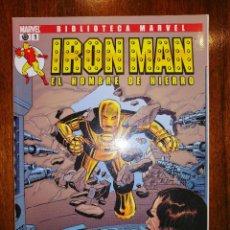 Cómics: BIBLIOTECA MARVEL - IRON MAN Nº 1. Lote 187453421