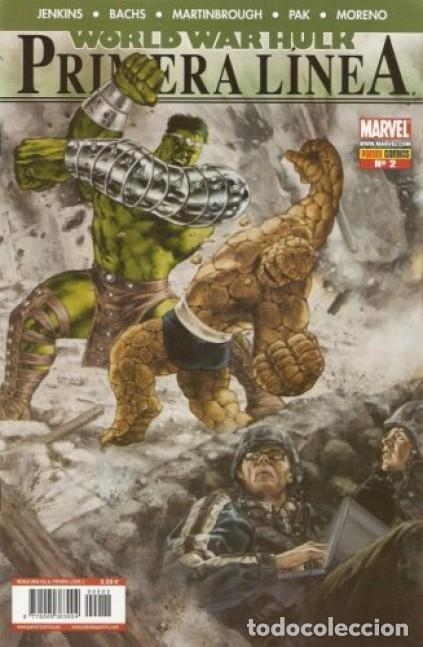 WORLD WAR HULK PRIMERA LINEA Nº 2 - PANINI - MUY BUEN ESTADO (Tebeos y Comics - Panini - Marvel Comic)