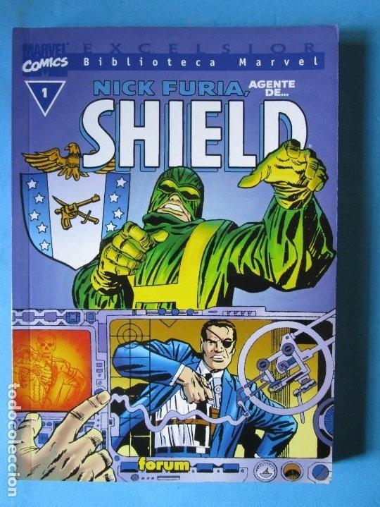 BIBLIOTECA MARVEL EXCELSIOR - NICK FURIA - AGENTE DE SHIELD Nº 1 - FORUM (Tebeos y Comics - Panini - Marvel Comic)