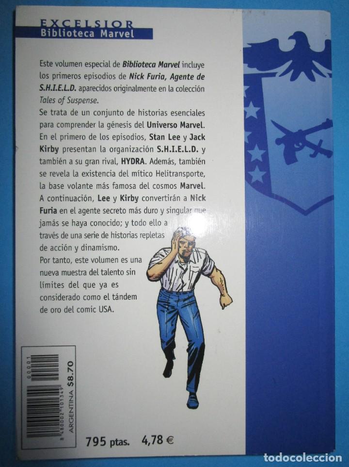 Cómics: BIBLIOTECA MARVEL EXCELSIOR - NICK FURIA - AGENTE DE SHIELD Nº 1 - FORUM - Foto 3 - 187455016