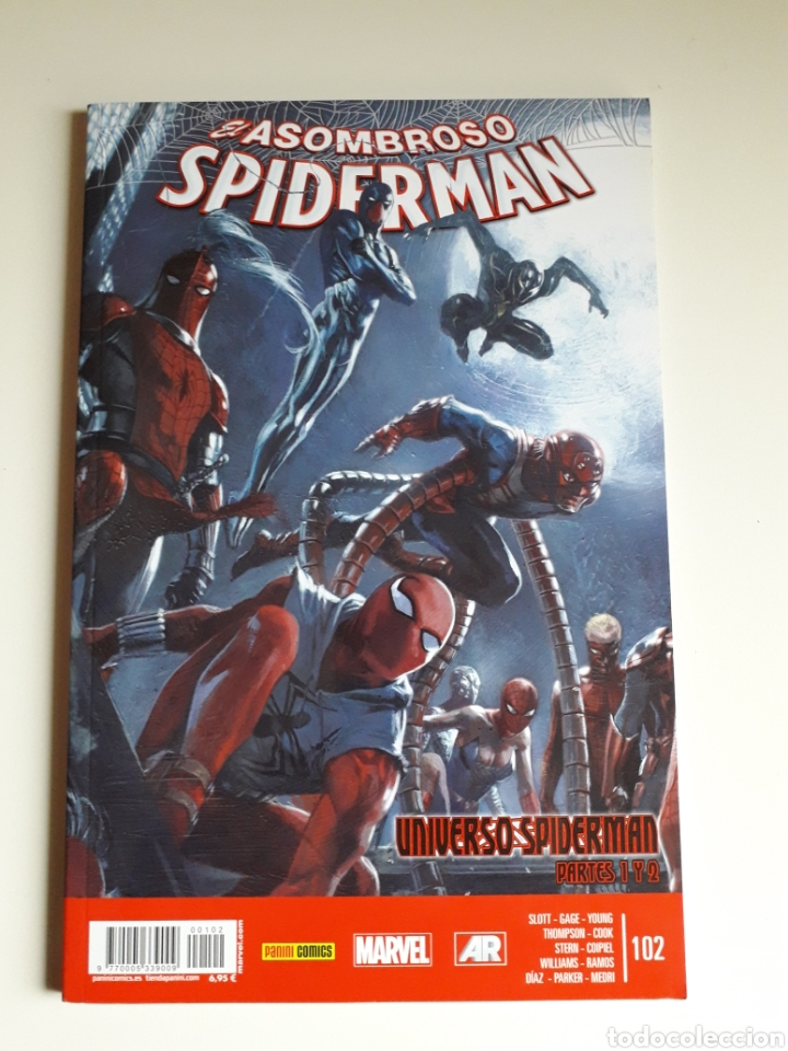 SPIDERMAN NUM 102 (Tebeos y Comics - Panini - Marvel Comic)