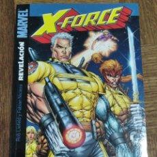Cómics: X-FORCE, NICIEZA & ROB LIEFELD - REVELACIONES, TOMO SERIE LIMITADA COMPLETA - MARVEL COMICS PANINI-. Lote 187606033