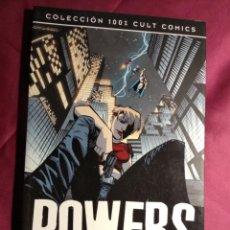 Cómics: COLECCION 100% CULT COMICS . POWERS. IDENTIDAD SECRETA. PANINI. Lote 187642867