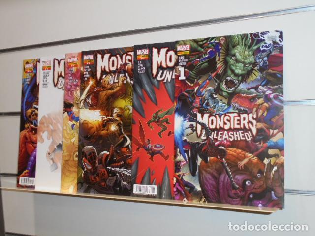 MONSTERS UNLEASHED COMPLETA 6 NUMEROS - PANINI (Tebeos y Comics - Panini - Marvel Comic)