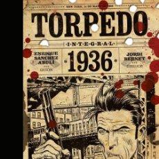 Cómics: TORPEDO 1936 DE BERNET Y ABULI - PANINI / EVOLUTION COMICS / EDICION INTEGRAL / TAPA DURA. Lote 188666227