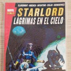 Cómics: STARLORD LÁGRIMAS EN EL CIELO TOMO RÚSTICA (MARVEL GOLD PANINI). Lote 189256705