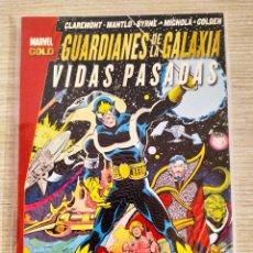 Cómics: GUARDIANES DE LA GALAXIA VIDAS PASADAS TOMO RÚSTICA (MARVEL GOLD PANINI). Lote 189257268
