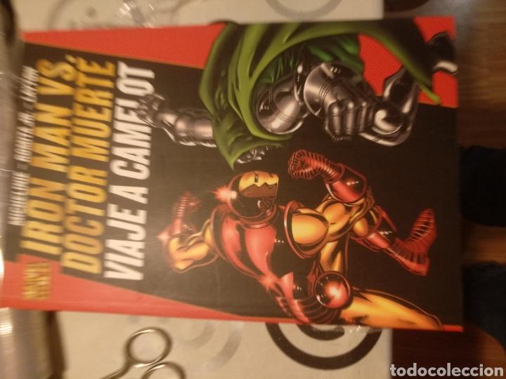 IRON MAN DR MUERTE VIAJE A CAMELOT (Tebeos y Comics - Panini - Marvel Comic)