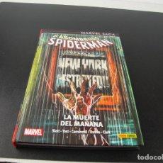 Cómics: MARVEL SAGA 35 EL ASOMBROSO SPIDERMAN LA MUERTE DEL MAÑANA. Lote 189677818