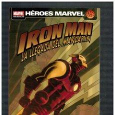 Comics: HÉROES MARVEL - IRON MAN - LA LLEGADA DEL MANDARÍN. NUEVO.. Lote 189760212