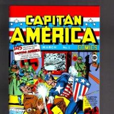Cómics: CAPTAIN AMERICA COMICS 1 GOLDEN AGE - PANINI / MARVEL FACSIMIL EN ESPAÑOL / CAPITAN AMERICA. Lote 205467421