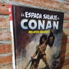 Cómics: LA ESPADA SALVAJE DE CONAN RELATOS SALVAJES 0 MARVEL LIMITED EDITION IMPECABLE ESTADO. Lote 184580661