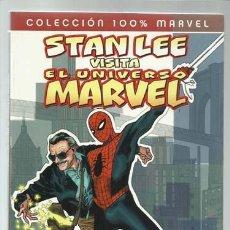 Cómics: STAN LEE VISITA EL UNIVERSO MARVEL, 2008, PANINI, MUY BUEN ESTADO. Lote 190552888