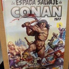Comics : LA ESPADA SALVAJE DE CONAN 3 1977 MARVEL LIMITED EDITION PANINI. Lote 190683298