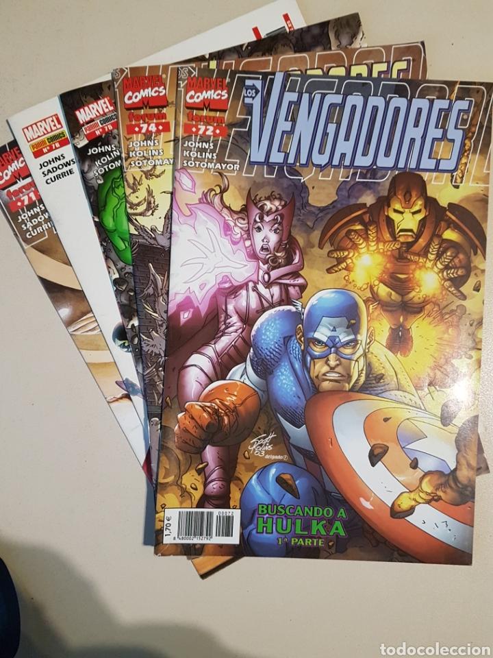 LOS VENGADORES VOL 3 - 71 72 74 75 76 - FORUM / PANINI - BUSCANDO A HULKA (Tebeos y Comics - Panini - Marvel Comic)