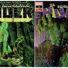 Comics: EL INMORTAL HULK 1 Y 2. PANINI. NUEVOS. - AGOTADOS -. Lote 190834216