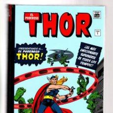 Comics: PODEROSO THOR 1 ORIGEN - PANINI / MARVEL OMNI GOLD / TAPA DURA. Lote 185251026