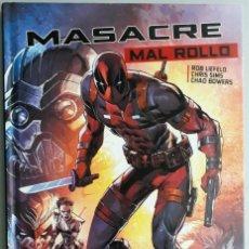 Cómics: MASACRE,MAL ROLLO (PANINI CÓMICS 2017). Lote 191285116