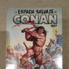 Cómics: LA ESPADA SALVAJE DE CONAN 1977 TOMO 3. OMNIBUS. MARVEL LIMITED EDITION. NUEVO. Lote 191300403