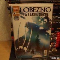 Cómics: LOBEZNO - LA LARGA NOCHE - Nº 3 - PANINI - MUY NUEVO - CON FUNDA Y CARTON PROTECTOR. Lote 191351385