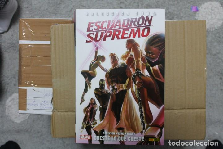ESCUADRON SUPREMO CUESTE LO QUE CUESTE COLECCION 100% PANINI (Tebeos y Comics - Panini - Marvel Comic)
