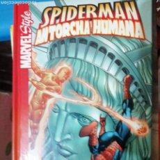 Cómics: MARVEL COMIC STYLE SPIDERMAN Y ANTORCHA HUMANA. Lote 191861080