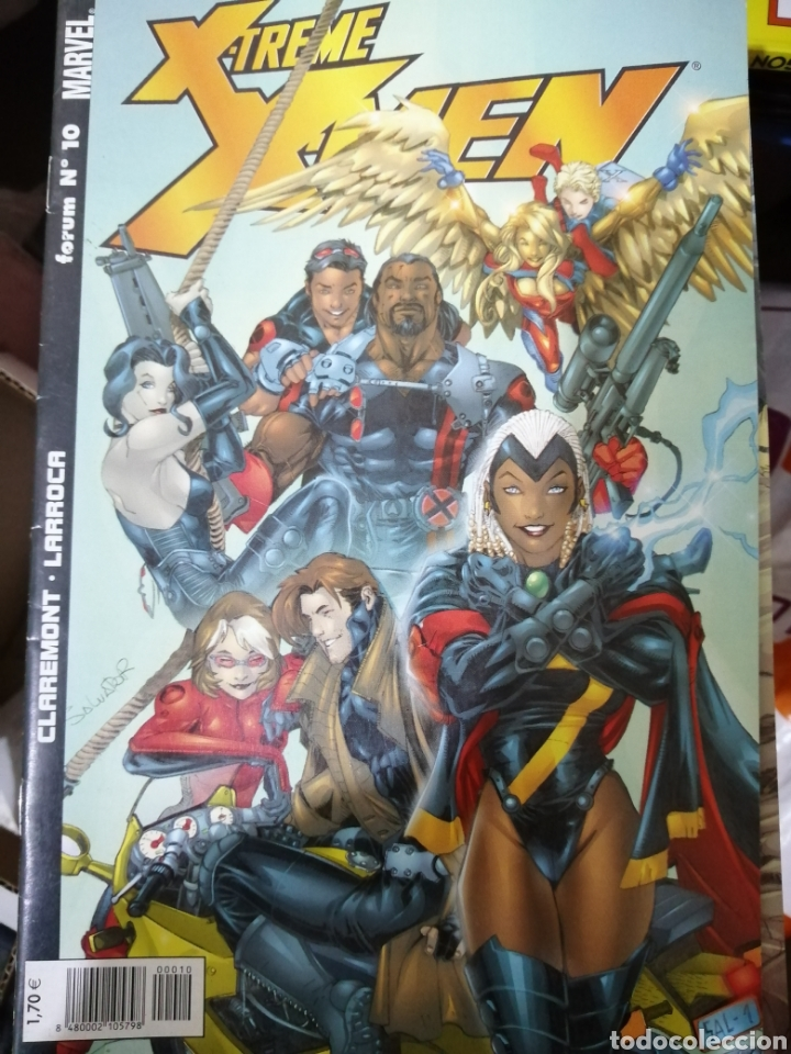 Cómics: Marvel comics x6 x-men varios. - Foto 3 - 191861722