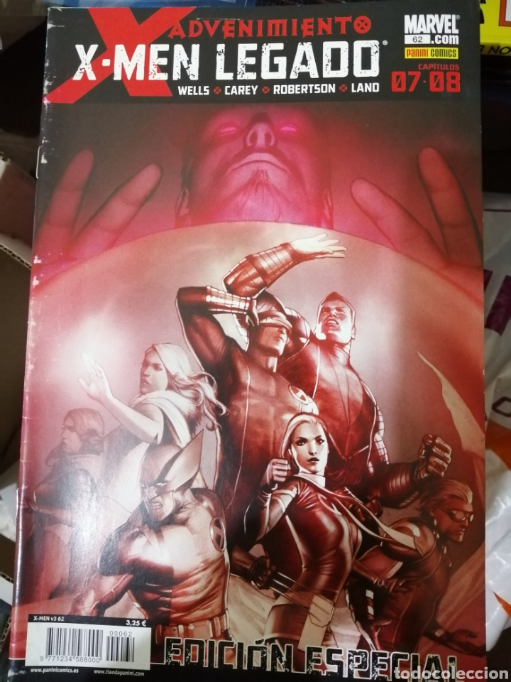 MARVEL COMICS X6 X-MEN VARIOS. (Tebeos y Comics - Panini - Marvel Comic)