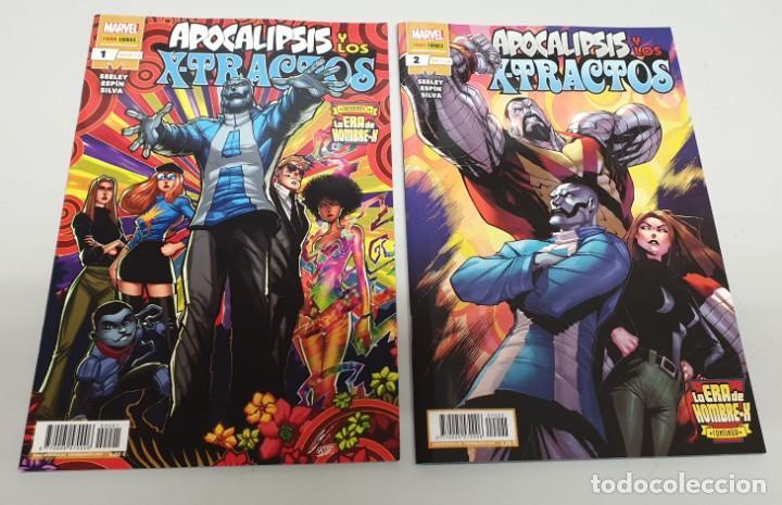 APOCALIPSIS Y LOS X-TRACTOS ¡ COMPLETO 1 Y 2 ! LA ERA DE HOMBRE-X MARVEL - PANINI (Tebeos y Comics - Panini - Marvel Comic)