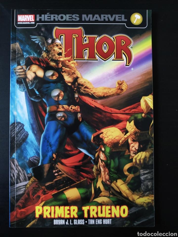 EXCELENTE ESTADO THOR PRIMER TRUENO HEROES MARVEL PANINI COMICS (Tebeos y Comics - Panini - Marvel Comic)