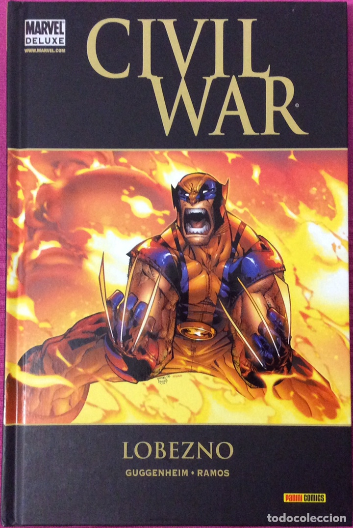 MARVEL DELUXE , LOBEZNO - CIVIL WAR (Tebeos y Comics - Panini - Marvel Comic)